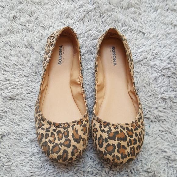Sonoma Shoes | Leopard Print Flats